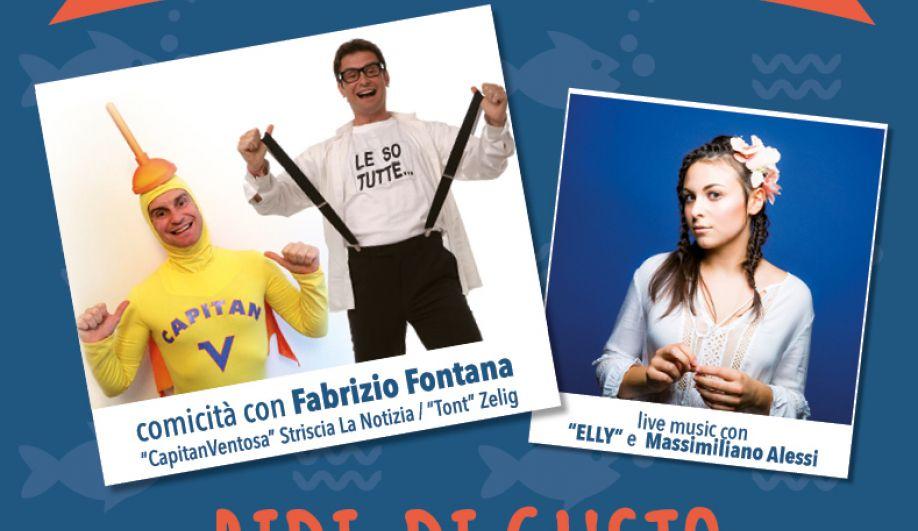 Cabaret con Fabrizio Fontana di Zelig